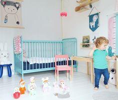Pastel kids room