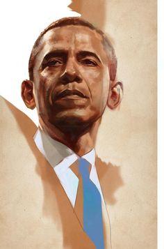 Barack Obama by Ben Oliver *