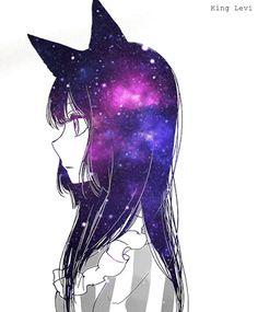 anime couple galaxy - Tìm với Google
