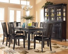 Contemporary Design Dining Room Table Chair Furniture Dining