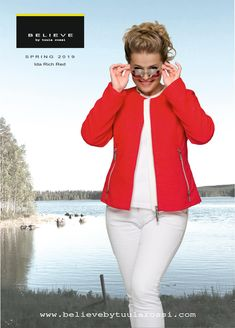 Baby Stripe Quilted Jacket with detachable hood is sporty and modern jacket has very beautiful and outstanding colour combination with rich red and off-white for spring season. IDA Jacket has great feminine fitting. The hood is detachable with stylish zipper. Fashionable IDA Jacket looks perfect with or without hood. Luxurious 2 way silver zipper fastens in front. Thanks to perfect cut you can feel comfortable and look great in all sizes! Striped Quilt, Spring Jackets, Look Chic, Quilted Jacket, Looking For Women, Color Combinations, Perfect Fit, Looks Great, Jackets For Women