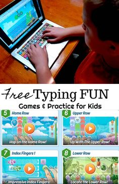 FREE Typing Program Resource for Teachers & Schools This FREE Typing program is ad-free for schools and teachers to use in their classrooms! You can use it on a tablet or computer. There are 150 levels that start out simple and progressively get more diff Typing Skills, Typing Games, Typing Programs For Kids, Home School Programs, Typing Practice For Kids, Teaching Kids, Kids Learning, Learning Shapes, Learning Spanish