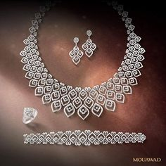 Bejewel yourself with Mouawad #HighJewelry and relive your most enchanting dreams! #ForeverYours #MouawadDiamondHouse #MouawadMoment  عيشي أروع اللحظات واطبعيها بسحر أطقم مجوهرات معوّض الفاخرة.