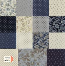 """SNOWBIRD Charm Pack from Moda - 42 5"""" factory-cut fabric squares - 42170PP"""