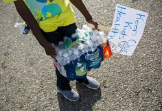 For 2 years, the people of Flint, Michigan have had lead in their drinking water, and it could still be a while before it is clean again.