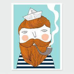 Affiche Bon Voyage Man Depeapa