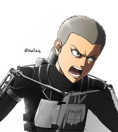 Watch Attack On Titan, Attack On Titan Fanart, Aot Characters, Fictional Characters, Connie Springer, Best Duos, Cornelius, Fan Art, Superhero