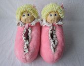Cabbage Patch Kids Slippers - still have my dolls.  Loved these!