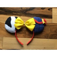 Jesse Toy Story Ears, Jesse Mickey Ears, Disney Inspired Jesse Toy... ($28) ❤ liked on Polyvore featuring accessories