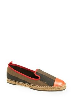 Fendi 'Junia' Espadrille Flat available at #Nordstrom