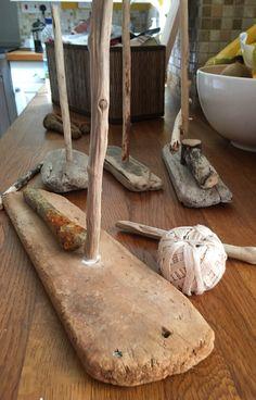 Making driftwood boats