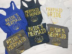 6-Bridesmaid-Tank-Top. Bride Maid of Honor Bridal by BrideBikini