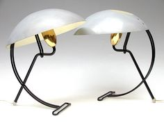 'Anywhere' table lamps by Louis Kalff for Philips 1950's