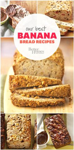These banana bread recipes are irresistible!
