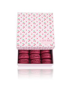 Ladurée - new cherry boxes. love love love (but rose and pistache macaroons please!)