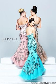 Sherri Hill Prom Dresses and Sherri Hill Dresses 21058 at Peaches Boutique