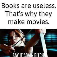 "In order to make the movie you need the ""useless"" book."