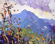Cold Mountain, North Carolina , 14 x 11 inches, a limited edition of ten prints, signed and numbered by Henry Isaacs