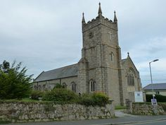 St Anta and All Saints Carbis Bay Cornwall    The parish church, built in 1929,  is dedicated to St Anta and All  Saints. The church contains a peal of ten bells, the largest peal in a  Cornish parish church.