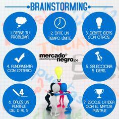 Brainstorming:Define el problema, debate tus ideas con otros y fundamenta con criterio. Conoce cómo puedes diseñar una tormenta de ideas con nuestro artículo http://tugimnasiacerebral.com/herramientas-de-estudio/que-es-una-lluvia-de-ideas-y-como-hacerla #Infografia #Brainstorming #Lluvia #Ideas #Gimnasia #Cerebral
