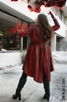 Wanda Maximoff / The Scarlet Witch Avengers Captain America Civil War cosplay by Little Wolf Cosplay: https://www.facebook.com/littlewolfcostuming/