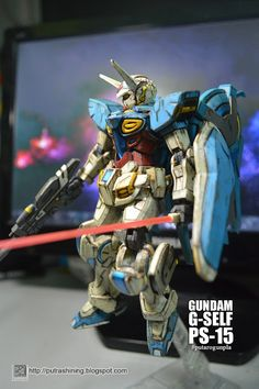 HG 1/144 GUNDAM G-SELF Custom Paint by Putra Shining PUTAROGUNPLA