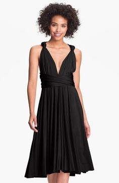 twobirds Bridesmaid twobirds Convertible Jersey Gown (Regular & Plus) available at #Nordstrom