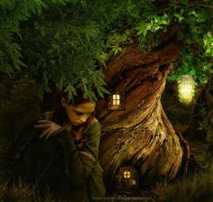 Fairytales by flina on DeviantArt Just Magic, A Kind Of Magic, Fantasy Books, Fantasy World, Deep Books, Three Rivers, Pretty Images, Paradis, Mother Nature