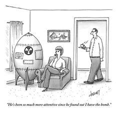 Bomb leverage, New Yorker cartoon