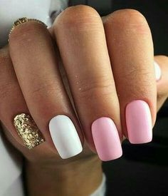 birthday nail designs 47 Ideas for birthday nails design acrylic Dream Nails, Love Nails, Pink Nails, Gel Nails, White Nails, Coffin Nails, Manicures, Glitter Nails, Birthday Nail Designs