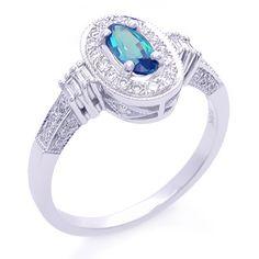 Valeriya. Ring. Natural Alexandrite, Diamonds, 18k.   More @ www.davidwein.com #jewelry #alexandrite #ring #davidwein