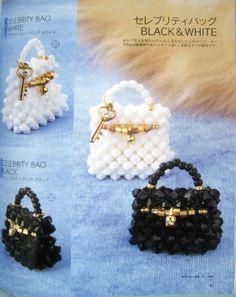 mini bolsos en cristal de swaroski, si quieres ver como se hacen mira el post en mi blog