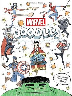 Marvel Doodles (Doodle Book) by Marvel Book Group Drawing Books For Kids 1c47aebccc900