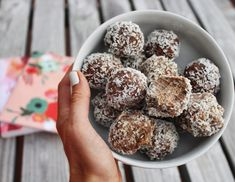 Alright y'all. These have outdone themselves. I am a HUGE fan of energy balls… Probably because I am a huge fan of snacks. And also a huge fan of healthy fats. So you can probably see w…