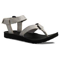 Teva Original Sandal Leather Metallic found at #OnlineShoes