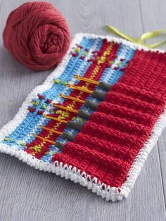 Plaid-y Hook Caddy   Yarn   Free Crochet Patterns   Yarnspirations