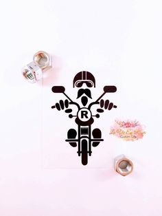 Excited to share the latest addition to my #etsy shop: Motorcycle Gifts, Motorcycle Decal, Harley Decal, Motorcycle Yeti Decal, Mug Decal, Instant Pot Decal, Car Decal, Water bottle decal #bikergifts #giftsforhim #yeti #Harley #stockingstuffers #personalizedgift