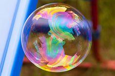 rainbow bubble