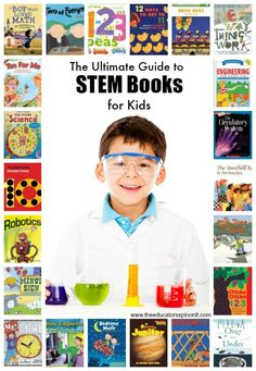 How To Produce Elementary School Much More Enjoyment Ultimate Resource For Stem Books For Children From The Educators' Spin On It Top Choices For Books About Science, Technology, Engineering Ad Math For Kids. Stem Science, Preschool Science, Teaching Science, Stem Teaching, Science News, Teaching English, Teaching Resources, Math For Kids, Science For Kids