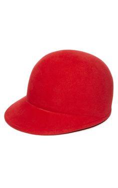 Casino Hat in Red Felt - Opening Ceremony