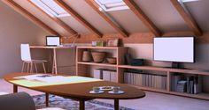 10 ideas para aprovechar un espacio tan versátil como la buhardilla