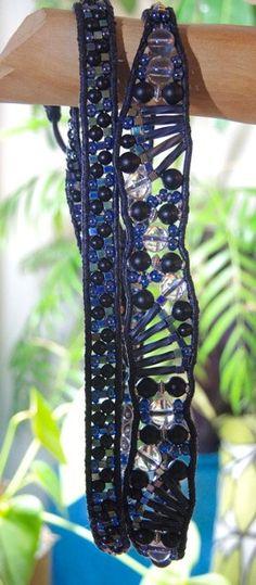 LYRIC 4 Wrap Beaded Gemstone Leather by BraceletsofBlueRidge
