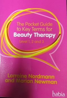 7 best new beautyhairdressing books images on pinterest beauty the pocket guide to key terms for beauty therapy level 1 2 and 3 fandeluxe Images