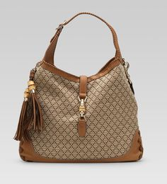 """Gucci bags and Gucci handbags 218491 9662 """"new jackie"""" large shoulder bag 250 Designer Inspired Handbags, Cheap Designer Handbags, Replica Handbags, Cheap Handbags, Gucci Handbags, Gucci Bags, Handbags Online, Handbags On Sale, Leather Handbags"""