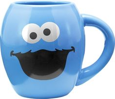 Vandor Sesame Street Cookie Monster Coffee Mug from Amazon. Sesame Street Cookies, Sesame Street Party, Cookie Monster Ice Cream, Disney Coffee Mugs, Monster Face, Ideas Hogar, Cute Mugs, Gifts For Dad, Coffee Cups