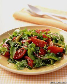 Arugula Salad with Tomatoes - Martha Stewart Recipes