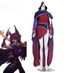 """Xayah The Rebel"" Anime Costume"