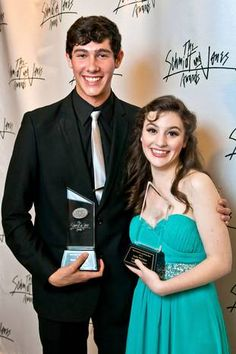 Drew Shafranek and Emily McIntyre were the winners from the Schmidt and Jones awards.