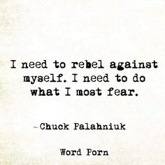 Rebel Against Fear