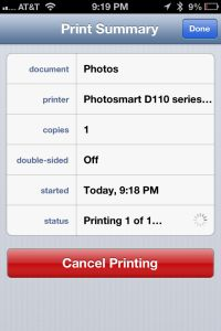 How to print from iPhone, iPad Mini, iPod Touch